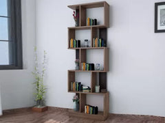 Nilkamal Checkers Engineered Wood Open Book Shelf