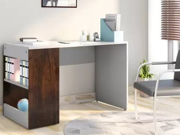 Homes Studio Augustine Dual Tone Engineered Wood Study Table
