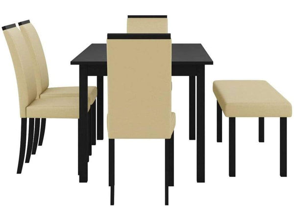 Perfect Homes Arranmore Solid Wood 6 Seater Dining set GMC Standard Table FN-GMC-006407