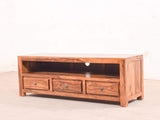 Pippin TV Unit With Three Drawer In Teak Finish GMC Express Storage FN-GMC-003966