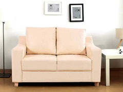 Pompeii two seater sofa in Leatherette GMC Standard Sofa FN-GMC-003505