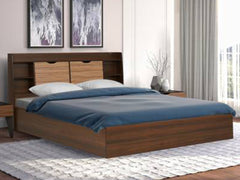 Riva Engineered Wood Queen Box Bed