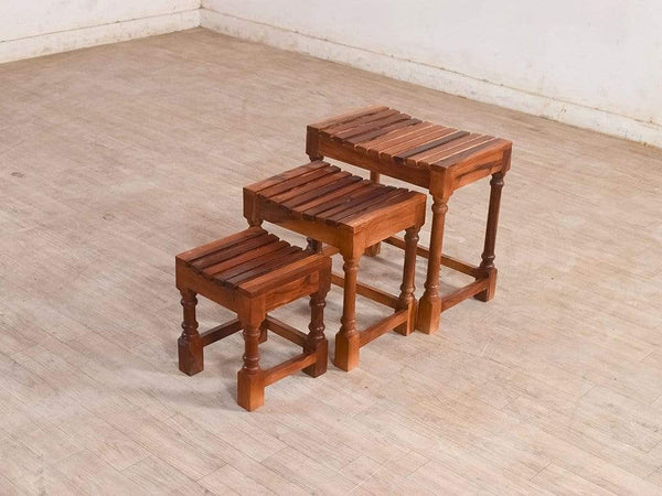 Robbin Nested Stools (Set Of 3) GMC Express Table FN-GMC-005900
