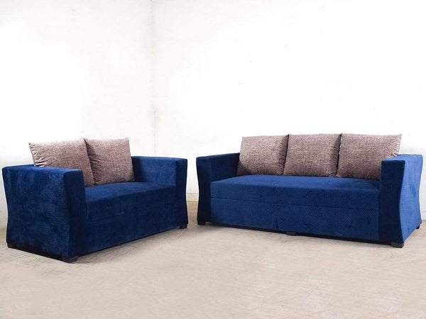 Rome Five Seater Sofa Set In Premium Fabric (3+2) GMC Standard Sofa FN-GMC-004843