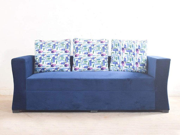 Rome Five Seater Sofa Set In Premium Fabric (3+2) GMC Standard Sofa FN-GMC-005288