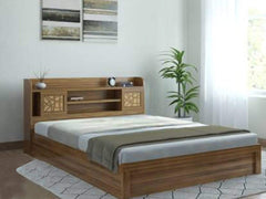 Spacewood Engineered Wood King Box Bed GMC Express Beds FN-GMC-007562