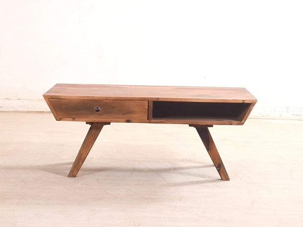 Stacey Coffee Table With Drawers In Sheesham Wood By Woodsworth GMC Express Table FN-GMC-005747