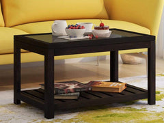 Stigen Solid Wood Coffee Table in Warm Chestnut Finish by Woodsworth GMC Express Table FN-GMC-008408