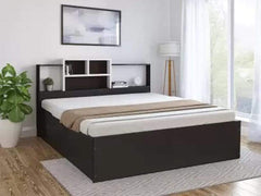 Symphony Engineered Wood Hydraulic Bed Beds
