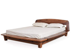 Tahiti Platform Queen Bed In Teak Finish By Urban Ladder GMC Express Beds FN-GMC-004293