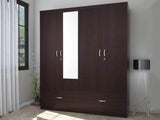 Utsav Engineered Wood 4 Door Wardrobe GMC Express Storage FN-GMC-007743