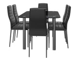Wharton Glass 6 Seater Dining Set GMC Standard Table FN-GMC-008289