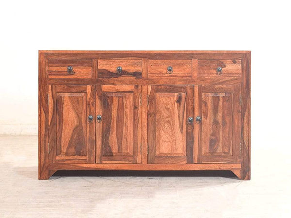 Yuko Sheesham Wood Sideboard In Teak Finish GMC Express Storage FN-GMC-005285