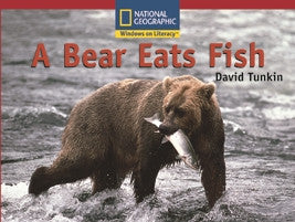 A Bear Eats Fish