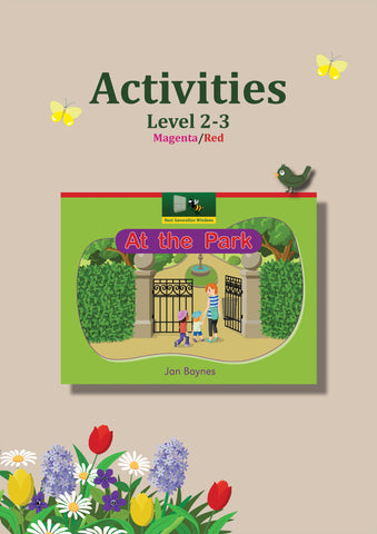 At the Park Activity Sheets