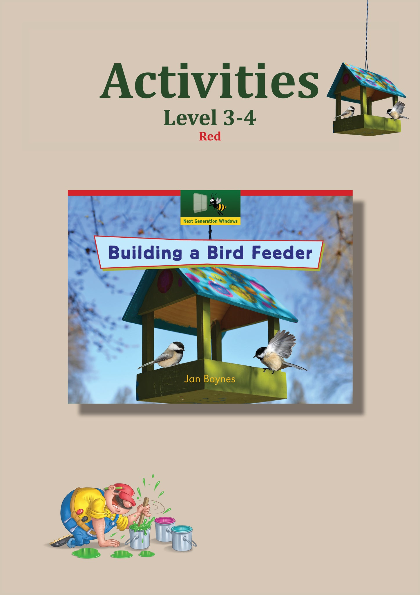 Building a Bird Feeder Activity Sheets