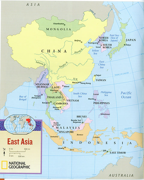 East Asia - Geography and Environments