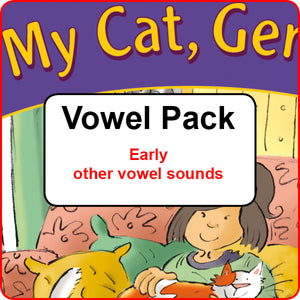 Vowel Pack - Early other vowel sounds