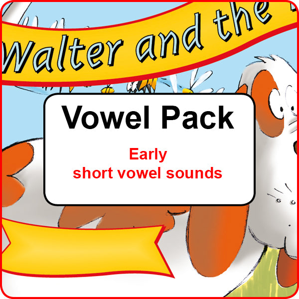 Vowel Pack - Early short vowel sounds