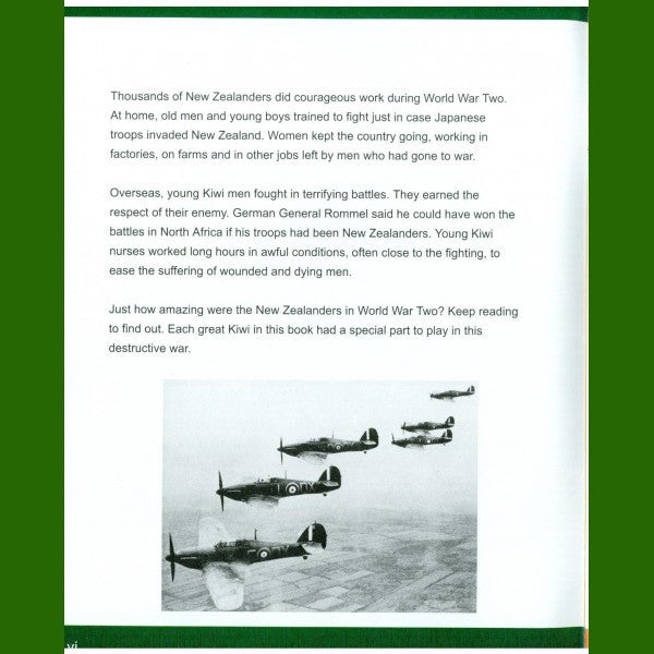 New Zealanders of Action in WW2 Book