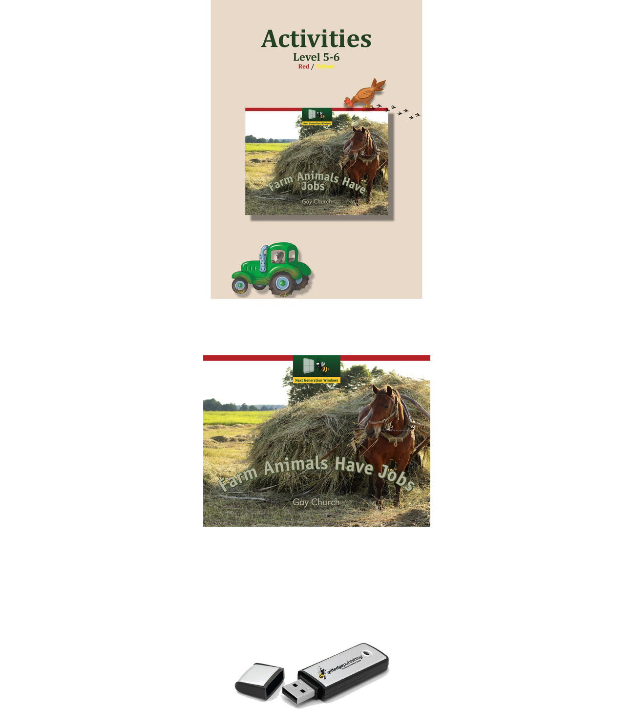 Farm Animals Have Jobs HOME Pack