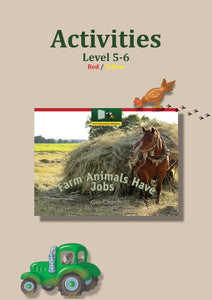 Farm Animals Have Jobs Activity Sheets