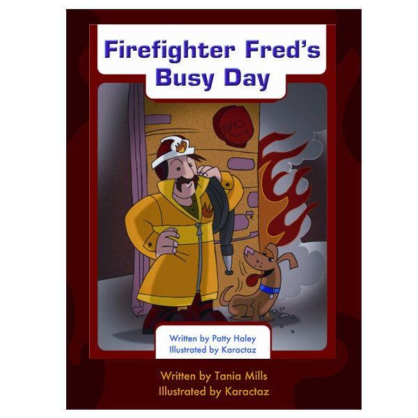 Firefighter Fred's Busy Day