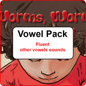 Vowel Pack - Fluent other vowel sounds