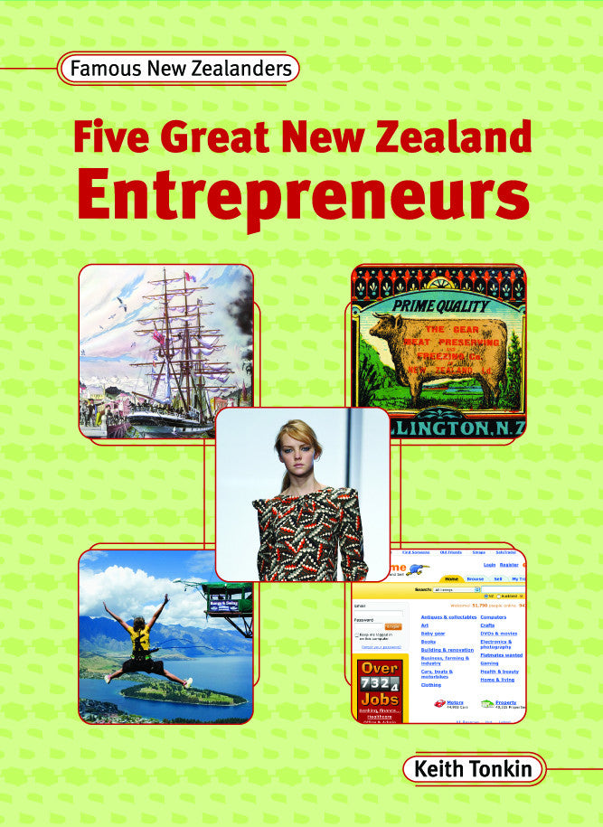 Five Great Entrepreneurs (ebook)