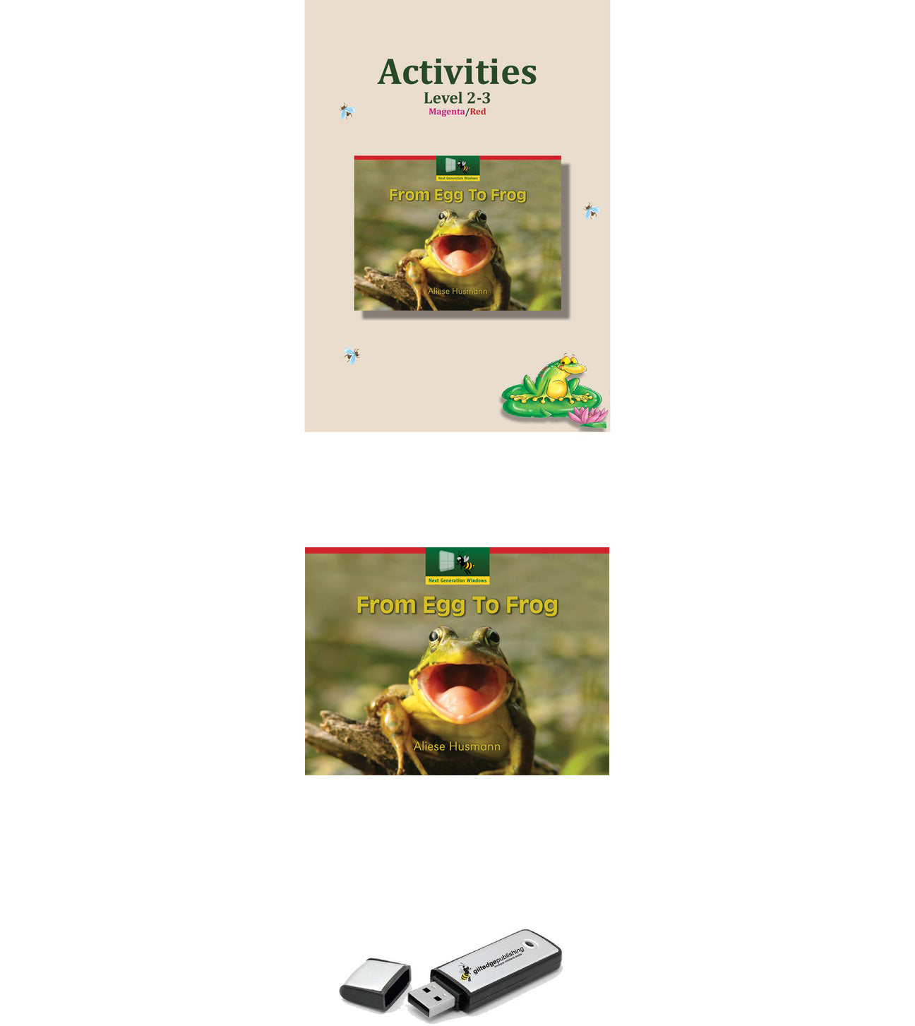 From Egg To Frog Pack HOME Pack