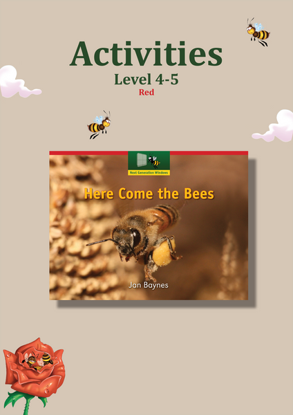 Here Comes the Bees Activity Sheets