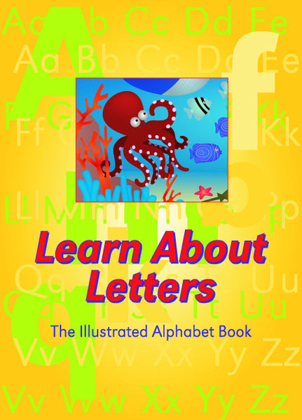 Big Book - Learn About Letters