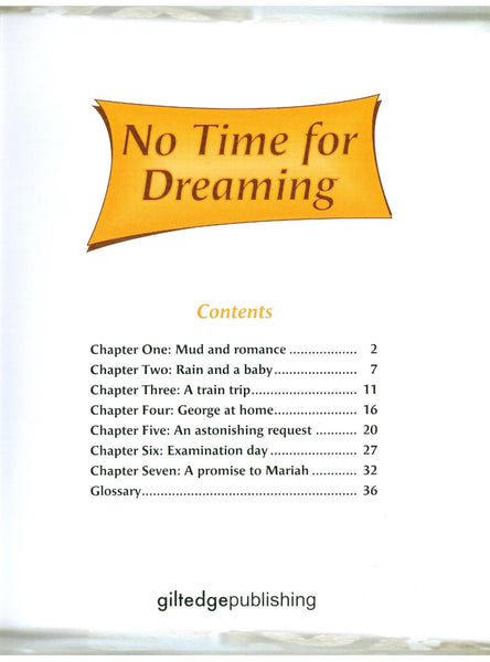 No Time For Dreaming