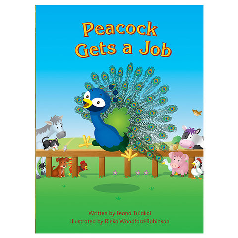 Peacock Gets A Job