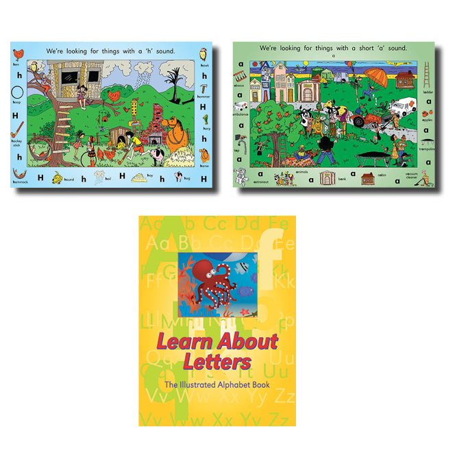 Decodable Poster Pack and Big Book Package