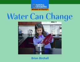 Water Can Change