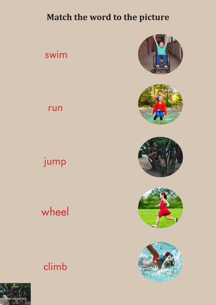 What Can You Do? Activity Sheets