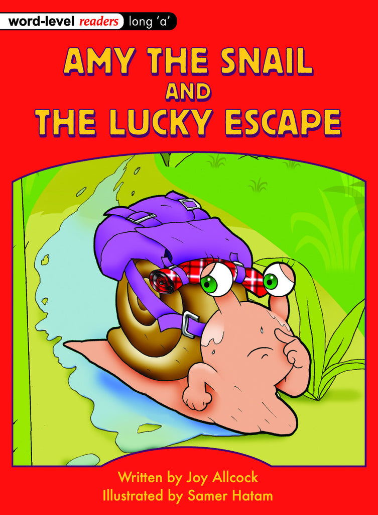 Amy the Snail and the Lucky Escape