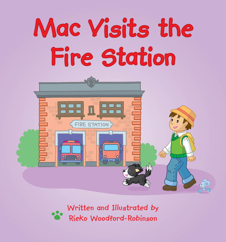 Lap Book - Mac Visits the Fire Station