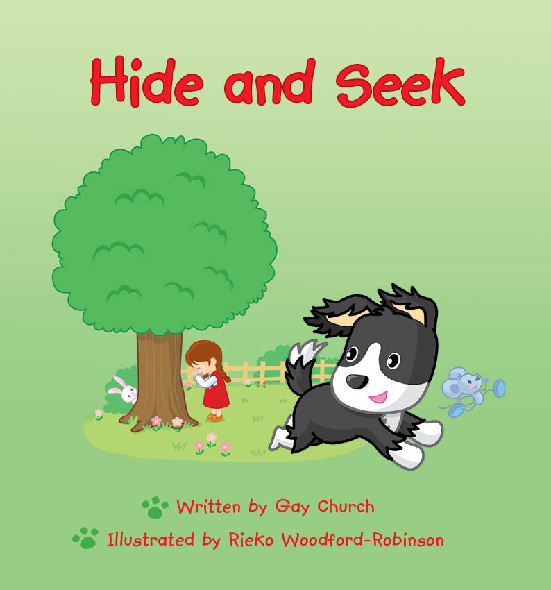 Lap Book - Hide And Seek