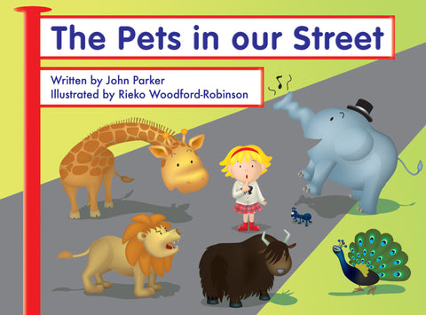 Lap Book - The Pets in Our Street