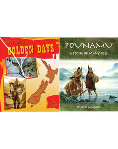 NZ's Golden Days & Pounamu Set $29.00