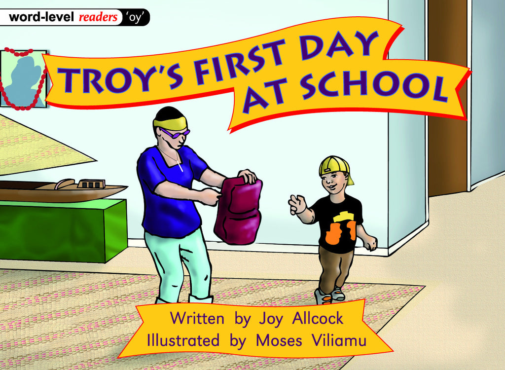 Troy's First Day At School
