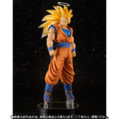Figuarts Zero Dragon Ball Z Super Saiyan 3 Son Goku EX Statue [Tamashii Web Shop Exclusive]
