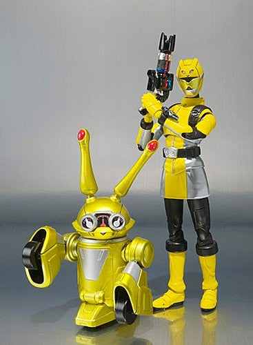 S.H.Figuarts Go Buster - Buster Yellow & Usada Lettuce [Tamashii Web Shop Exclusive]