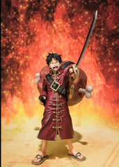 Figuarts ZERO: One Piece Film Z Monkey D Luffy- Battle Ver. [Tamashii Web Shop Exclusive]