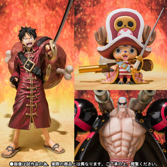 Figuarts ZERO: One Piece Film Z Luffy Chopper Franky Set [Tamashii Web Shop Exclusive]