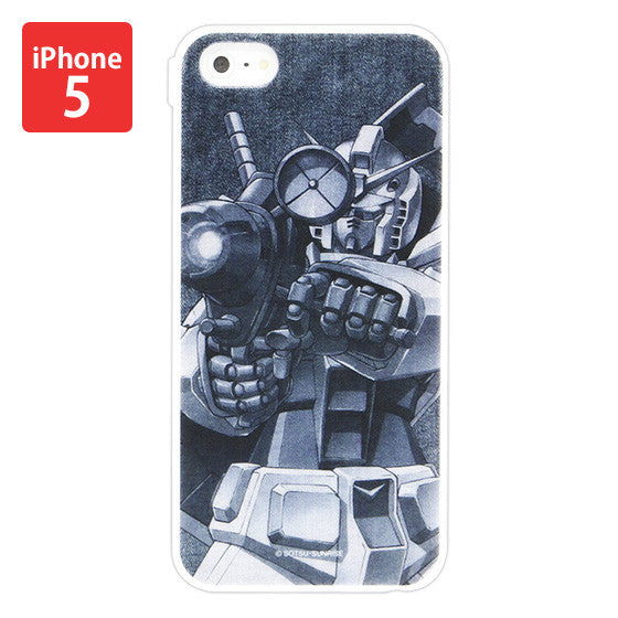 Mobile Suit Gundam RX-78-2 Gundam Iphone 5 Cover [P-Bandai Exclusive]