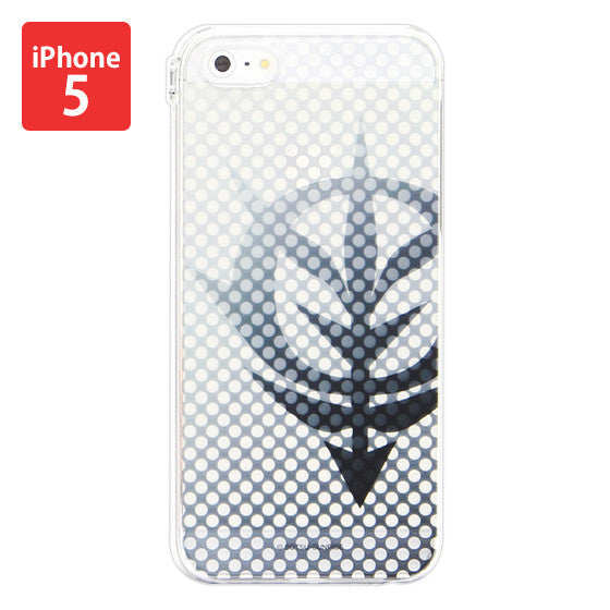 Mobile Suit Gundam Zeon clear Iphone 5 Cover [P-Bandai Exclusvie]