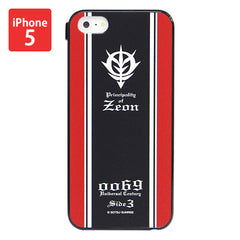 Mobile Suit Gundam Zeon Army - Iphone 5 Cover [P-Bandai Exclusive]